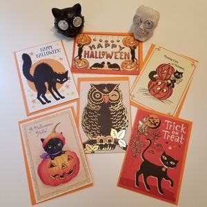 Hallmark Holiday - 🎃 Halloween Bundle! Vintage Inspired Cards Lights